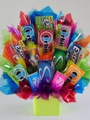 Multiple Candy Bouquet Ideas