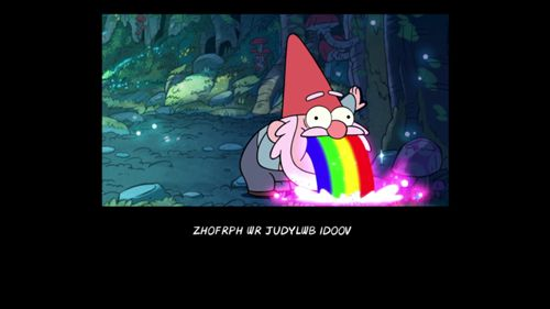 The following is a list of cryptograms fromGravity Falls. There is a cryptogram during the...