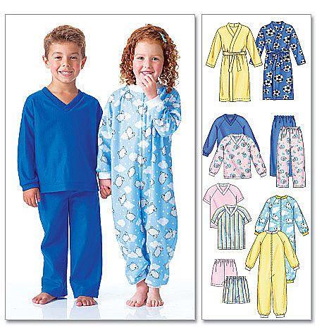 patron couture gratuit pyjama garçon 5