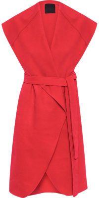 Colete Wool Vermelho