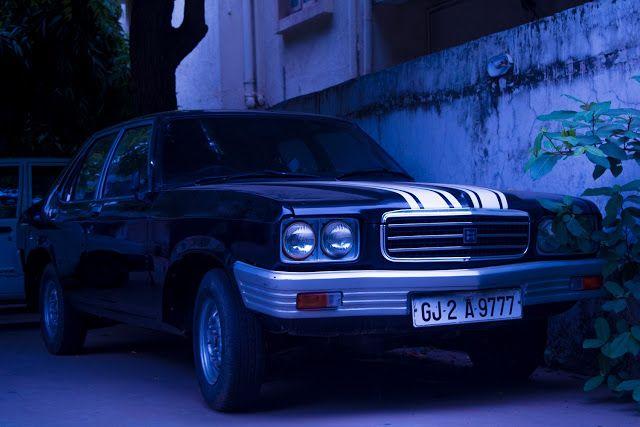 Megh Bhatt Photography: Car in the blue hour. Hindustan motors, Contessa! ...