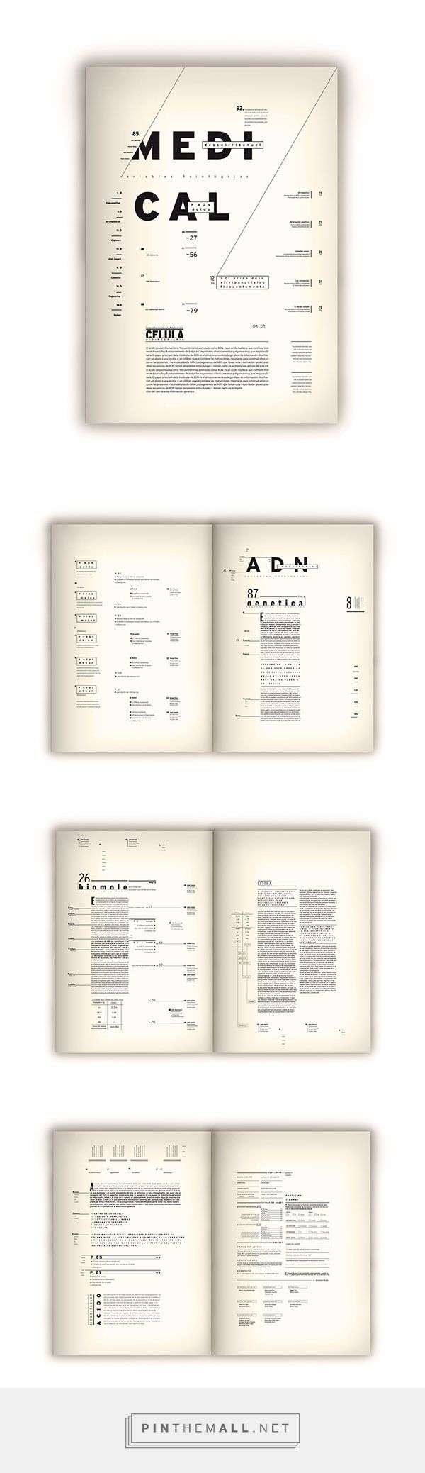 Programa Editorial -Medical- on Behance... - a grouped images picture - Pin Them All
