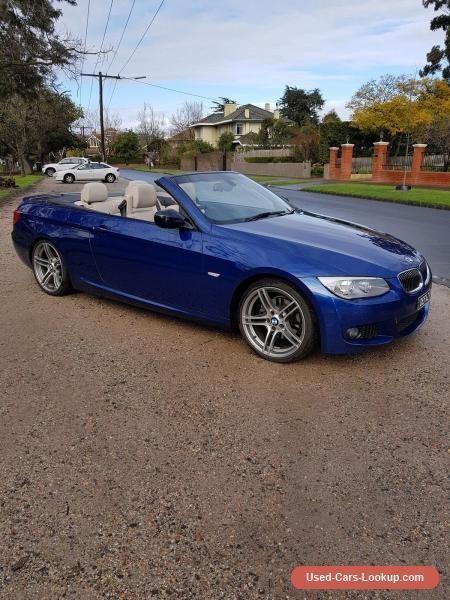 2013 BMW 320d E93 Cabriolet Convertible #bmw #320d #forsale #australia