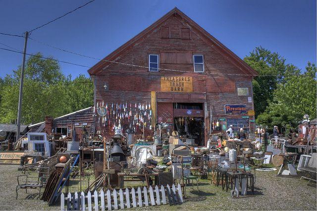 Treasures Trash Barn | Searsport, Maine
