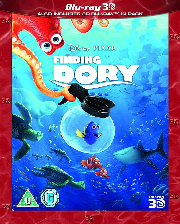 #Finding dory 3d #blu-ray + 2d #blu-ray + #slipcase,  View more on the LINK: http://www.zeppy.io/product/gb/2/132080135211/