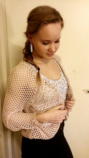 Personalizing of clothes with scissors, crochet and tea dying :) you won't recognize your clothes anymore!
