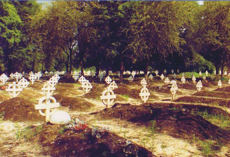 32 Battalion graveyard, the forgotten heroes.