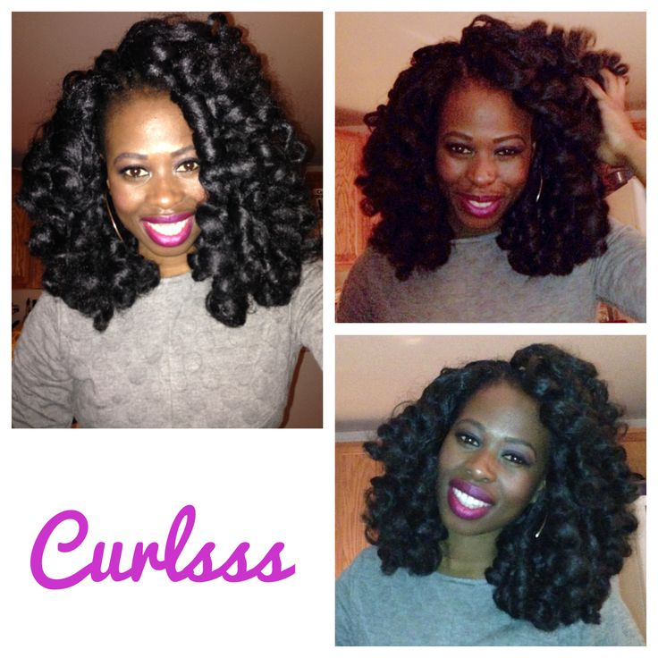 #HairStories...#Crochet #Braids using #JanetCollection #Afro Twist Braid hair!  Loving my curls !  Great protective hairstyle.