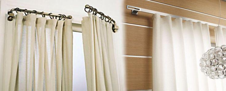 tipos de barras para cortinas