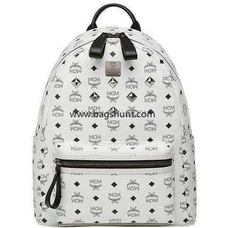 MCM medium visetos stark backpack White 2016 Store Discount - $180.00 | cheap bags uk | Scoop.it