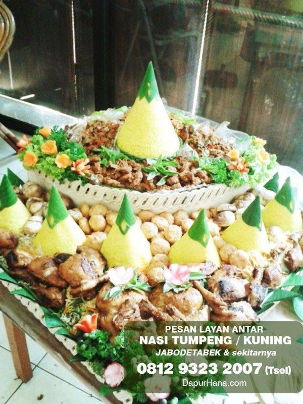 Pesan Tumpeng Nasi Kuning