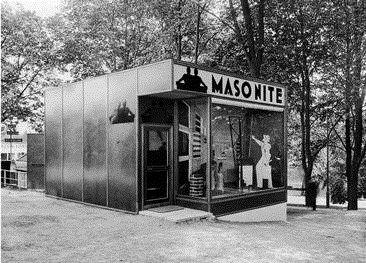 Masonites paviljong vid Stockholmsutställningen 1930