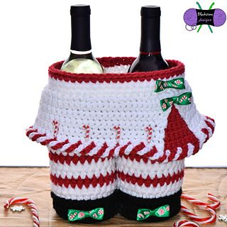 Peppermint Girl Gift Basket crochet pattern by Blackstone Designs