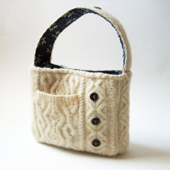 Custom Felted Purses Designed Using Your Own by rescuedbykathleen, $45.00
