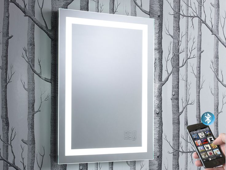 Encore Illuminated Bluetooth Bathroom Mirror With Speakers Roper Rhodes