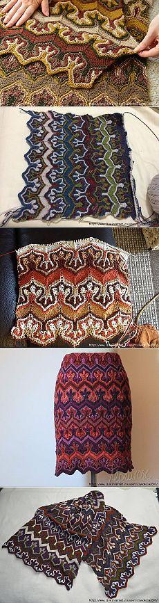 This pattern [Fox Paws] fascinates me