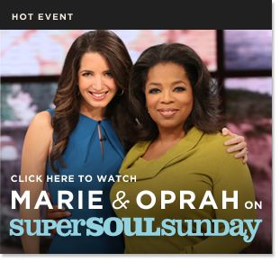 Awesome Marie Forleo chats with Oprah!