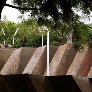 Walkways at Castelldefels Elías Torres Architects/José Martínez Lapena © Landezine