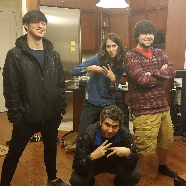 Ethan and Hila Klein (h3h3productions), Jon Jafari (JonTron), and George Miller (TvFilthyFrank)