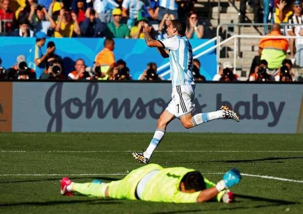 #DiMaria uno de los goles mas gritados del mundial!