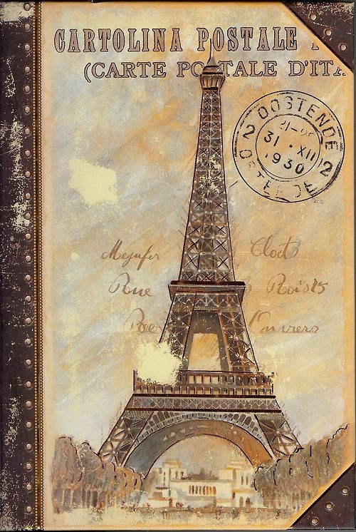 Eiffel Tower Carte Postale
