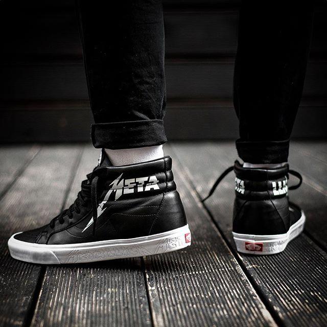 Vans X Metallica Ua Sk8 Hi Reissue 11000 Sneakers76 Store Online Link In Bio Vans Metallica Vansxmetallica Sk8 Vans Europe Sneaker Head Sneakers