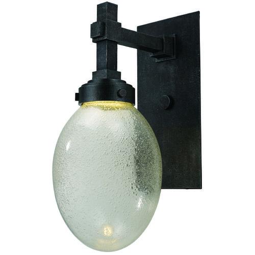 Mid-Century Modern LED Outdoor Wall Light Iron Ore Pike Place by Maxim Lighting | 54384PLIO | Destination Lighting