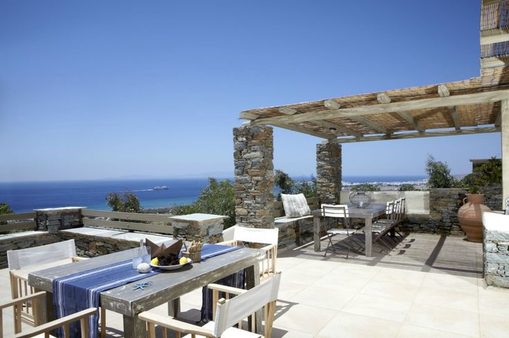 Holiday villa rental in Tinos. Tinos Villas Resort | 4 Bedroom - 3 Bathroom Sea View Villa. Our 180 m2 Grande Villa has 4 bedrooms, 3 bathrooms and 1...