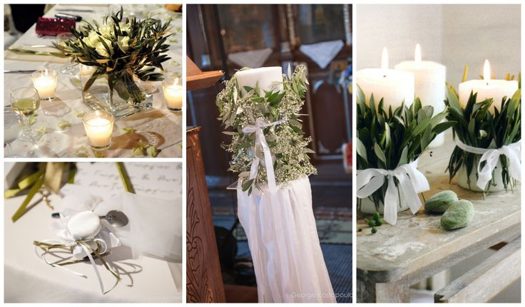 Wedding decoration in Thasos island