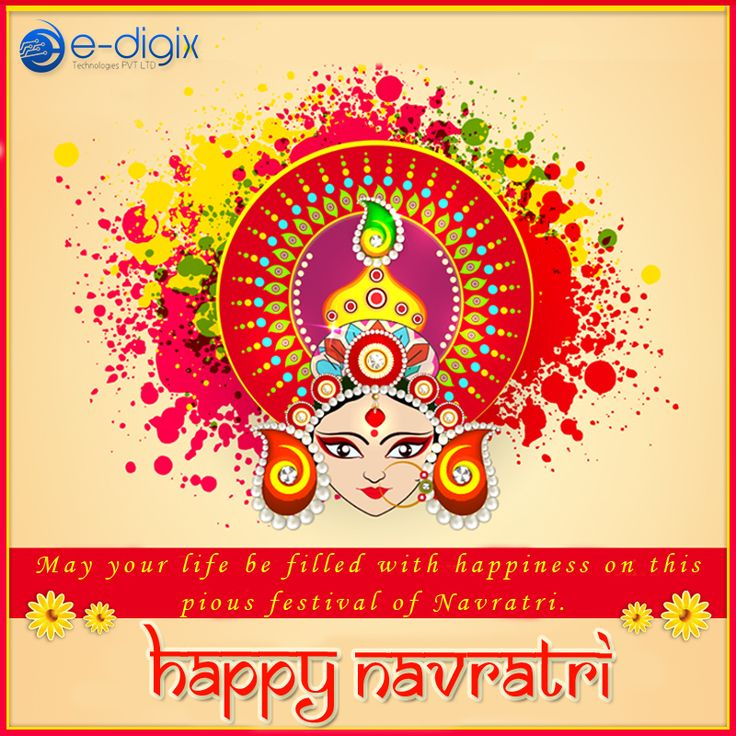 Wishing you and Your Family a very #Happynavratri from E-Digix Technologies Family!!!! #happyNavratri2017 #HappyNavaratri #HappyNavratra