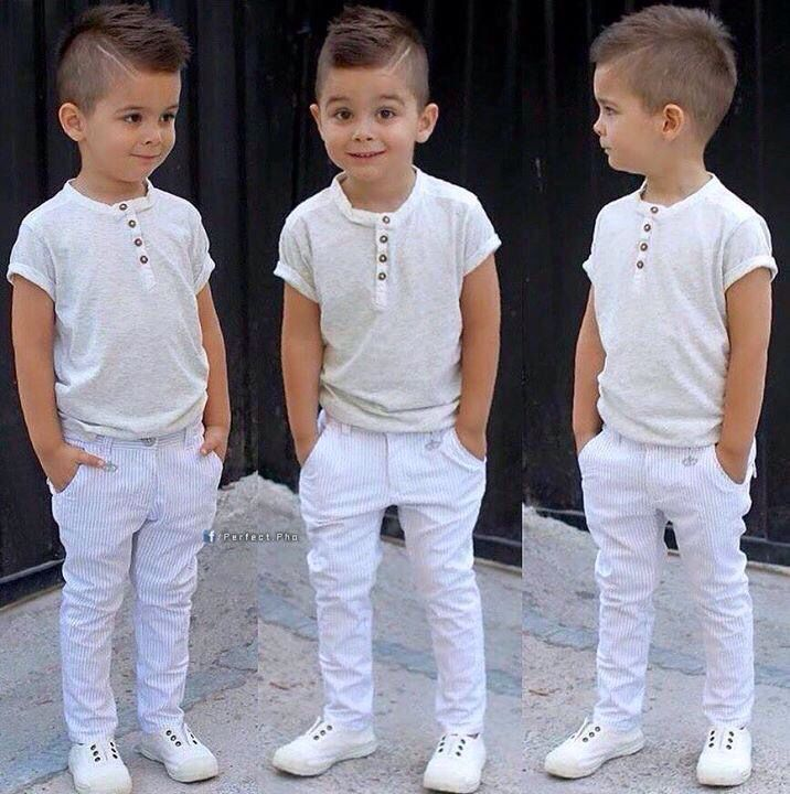 White on white little boy outfit                                                                                                                                                                                 Más