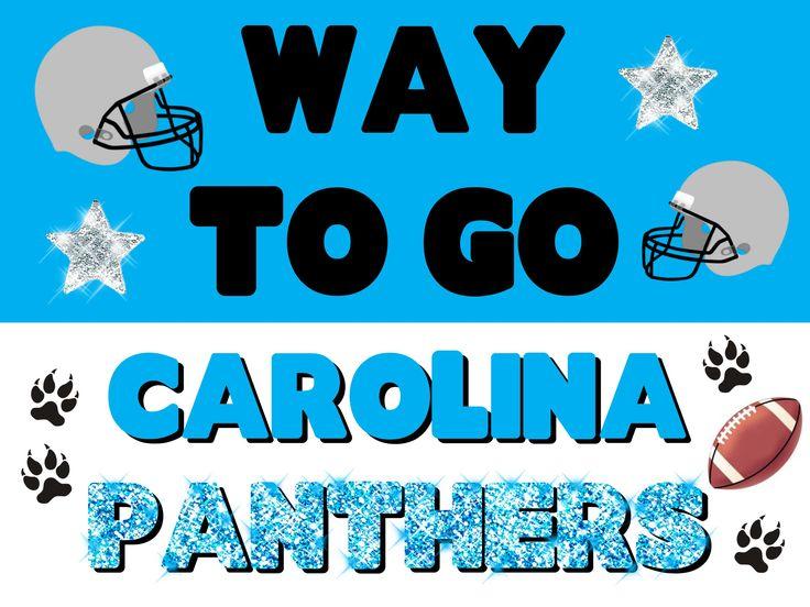 Carolina Pathers Poster Idea!