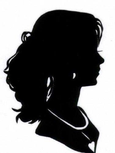 Силуэт женского лица - Женский