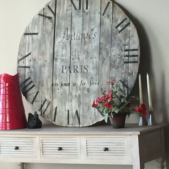 French Clock Decor by LollyandJune on Etsy