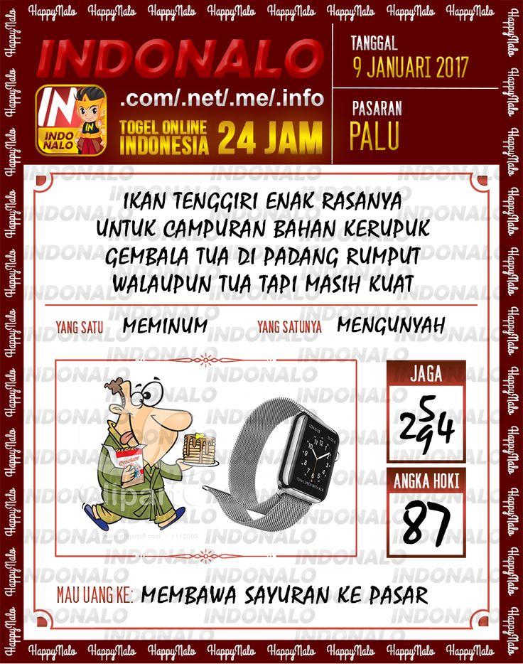 Kode Jaga 6D Togel Wap Online Live Draw 4D Indonalo Palu 9 Januari 2017