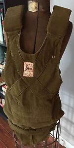 Vintage Original Snugli By Sheri Lou Baby Carrier Corduroy Great Free Shipping  | eBay
