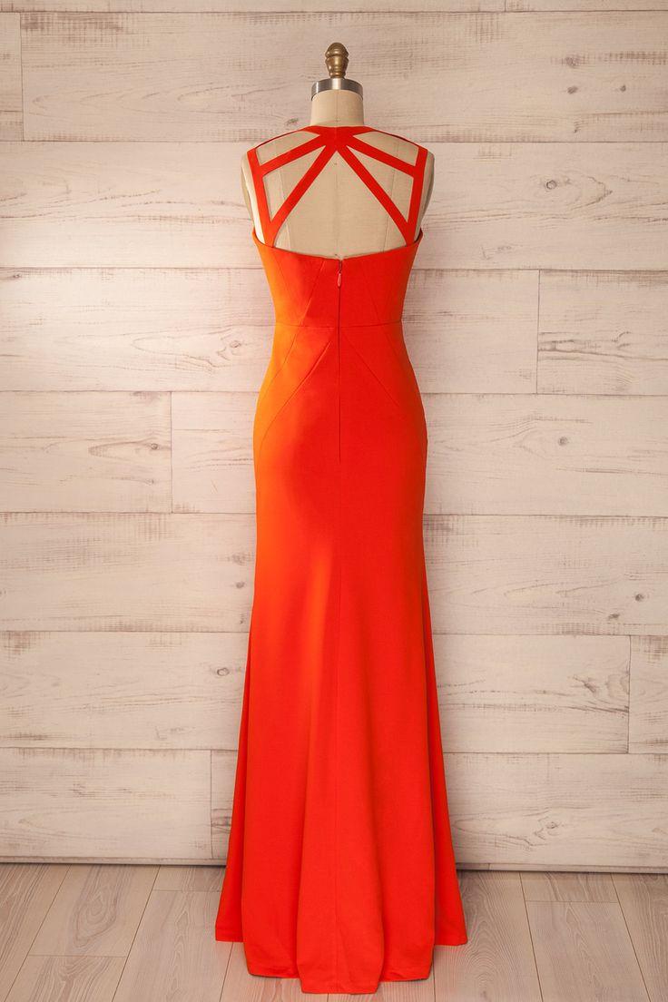 Alle Kleider abitur kleider : Die besten 25+ Orange maxi kleider Ideen auf Pinterest | Kleid ...