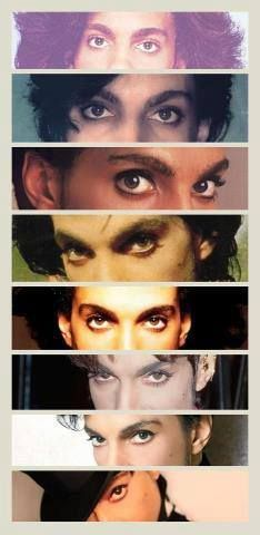 Prince's original never can be duplicated Alluring Eyes! He probably could seduce a man with those eyes!!!
