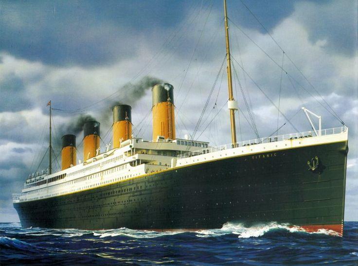 Finish Titanic Cross stitch and get framed