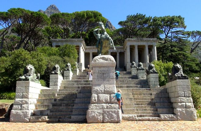 Rhodes Memorial on Table Mountain, Cape Town