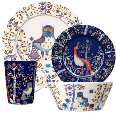 Iittala Taika Dinnerware - we love this and have registered for it!