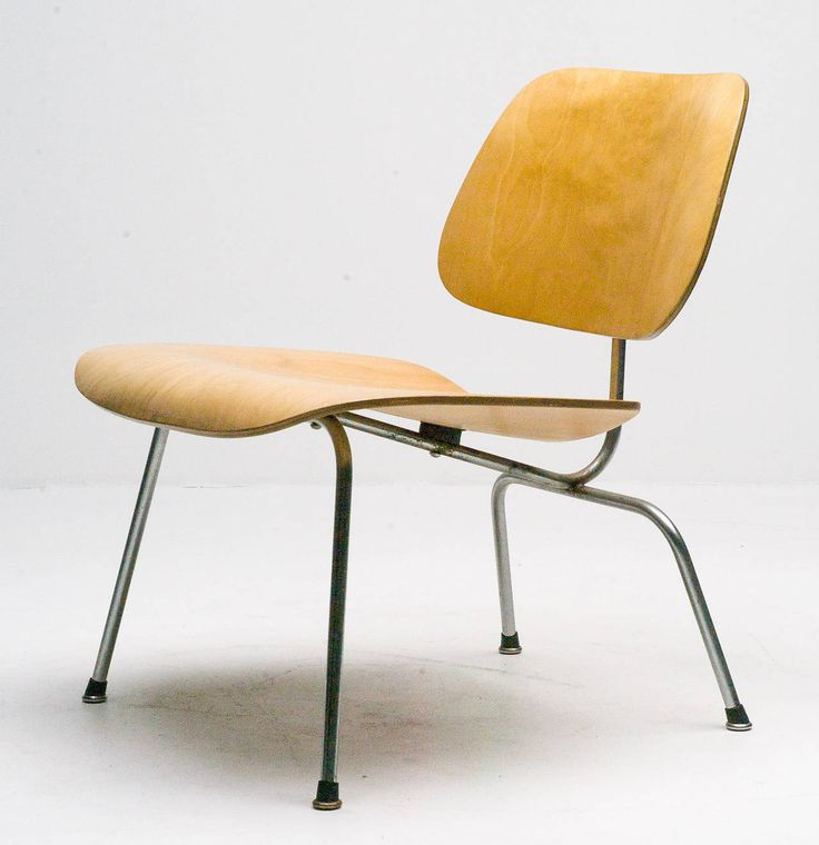 1949 Original Charles Eames LCM in Birch Chair | From a unique collection of antique and modern lounge chairs at https://www.1stdibs.com/furniture/seating/lounge-chairs/