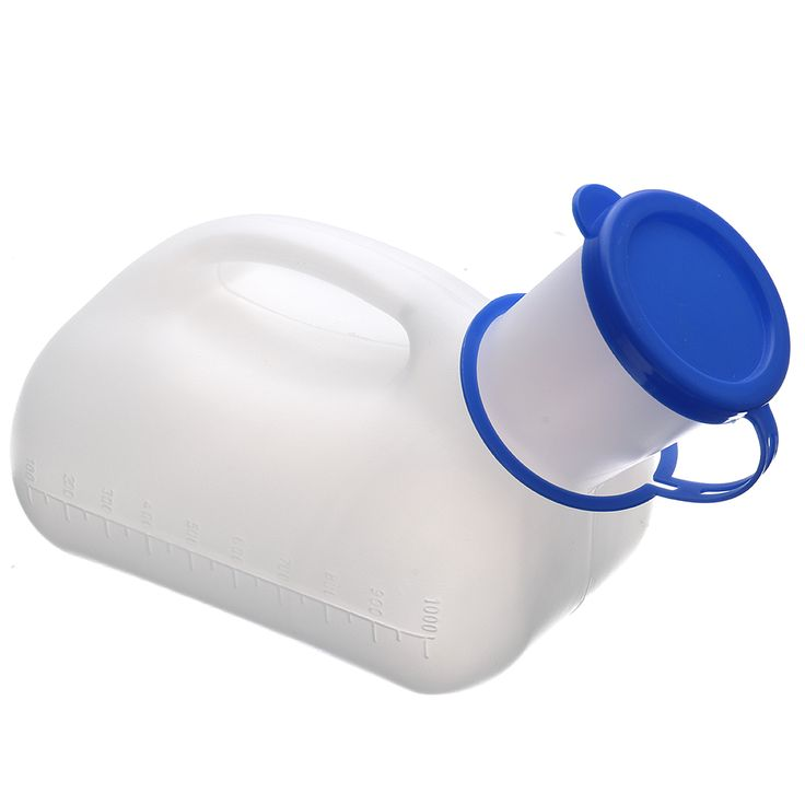 "IPReeâ""¢ 1000ml Portable Outdoor Urinal Urine Storage Bottle Male Men Pee Camping Travel"