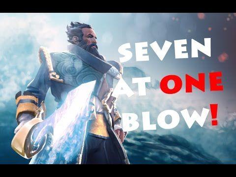 Dota 2 Kunkka gameplay overthrow (fragmovie)