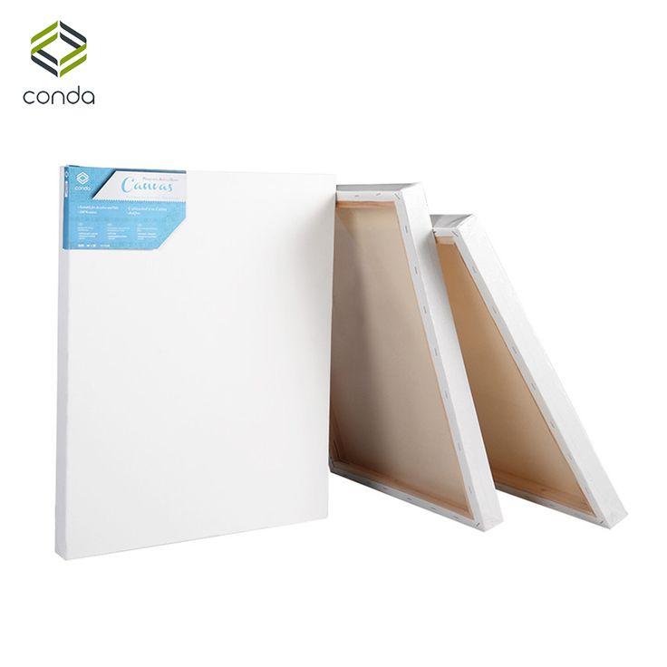 """CONDA Artist Stretched Canvas 8""""*10"""" Painting Board 10 Pack for Oil Acrylic Drawing Panel Professional Art Supplies"""