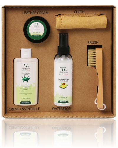 TL141388 Leather care products complete set