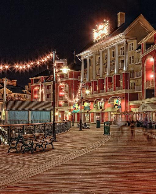 On the Boardwalk.  My favorite place in the Walt Disney World Resort!