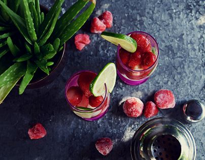 """Check out new work on my @Behance portfolio: """"Strawberry ice drink"""" http://be.net/gallery/33182385/Strawberry-ice-drink"""