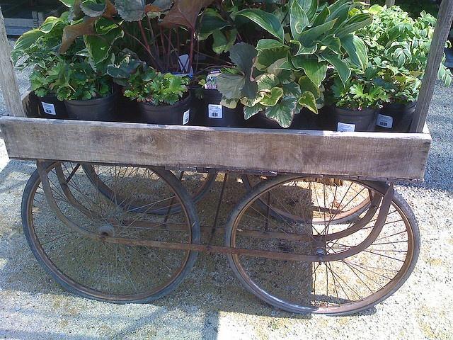 a garden cart