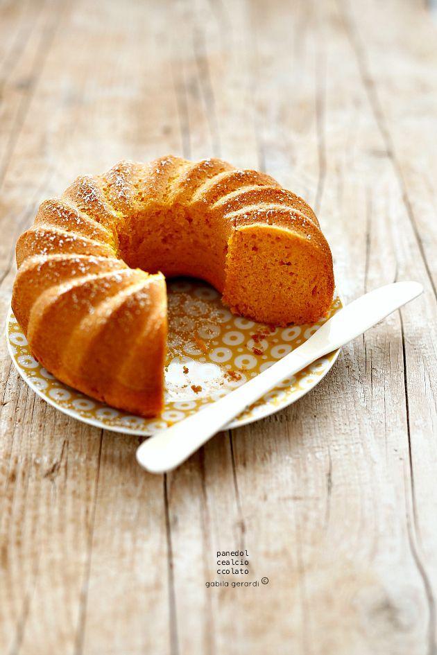 ... pumpkin cake (butter free) ...